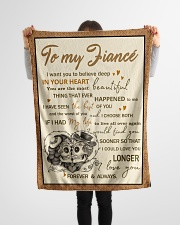 """Skull To My Fiance I Want You To Believe Deep Small Fleece Blanket - 30"""" x 40"""" aos-coral-fleece-blanket-30x40-lifestyle-front-14"""