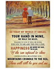 Family Your Hand In Mine 11x17 Poster thumbnail