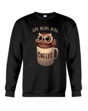COFFEE COFFEE  COFFEE Crewneck Sweatshirt thumbnail