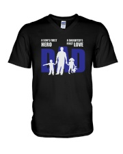Dad is the son's son V-Neck T-Shirt thumbnail