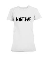 Michigan Native Shirts Premium Fit Ladies Tee thumbnail