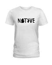 Michigan Native Shirts Ladies T-Shirt thumbnail