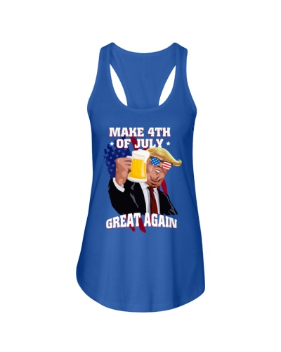 Make 4th of July Great Again Shirt Trump Men Women