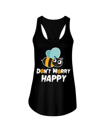 Don't Worry Be Happy Cute Bumble Bee T-shirt