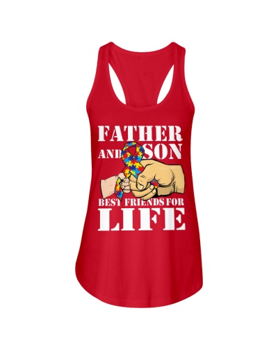 Autism Awareness Shirt Father and Son Best Friend