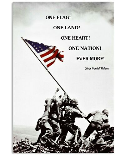 ONE FLAG - ONE NATION POSTER