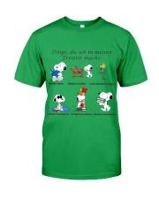 Dinge die ich in meiner Freizeit mache Classic T-Shirt tile