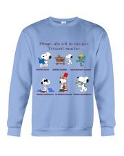 Dinge die ich in meiner Freizeit mache Crewneck Sweatshirt tile