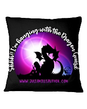 Hang with the Dragon Guard ALL DAY LONG Square Pillowcase thumbnail
