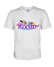GET FLOCKED TOO V-Neck T-Shirt thumbnail
