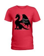 Dragon Momma Ladies T-Shirt thumbnail