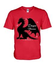 Dragon Momma V-Neck T-Shirt thumbnail