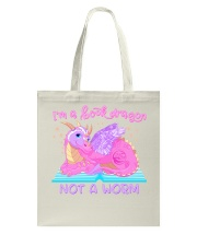 I'M A BOOK DRAGON Julia Mills Author Exclusive Tote Bag thumbnail