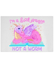 I'M A BOOK DRAGON Julia Mills Author Exclusive Rectangle Cutting Board thumbnail