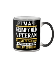 GRUMPY OLD VETERAN Color Changing Mug thumbnail