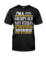 GRUMPY OLD NAVY Classic T-Shirt front
