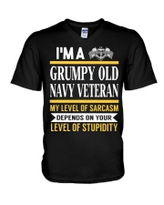 GRUMPY OLD NAVY V-Neck T-Shirt thumbnail