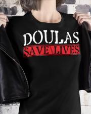 Doulas Save Lives Premium Fit Ladies Tee apparel-premium-fit-ladies-tee-lifestyle-32