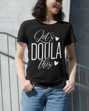 Let's doula this Premium Fit Ladies Tee apparel-premium-fit-ladies-tee-lifestyle-front-34