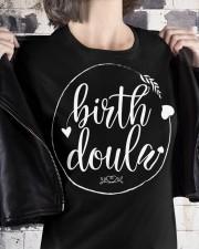 Birth Doula Delivery Nurse Premium Fit Ladies Tee apparel-premium-fit-ladies-tee-lifestyle-32