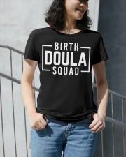 Birth Doula Squad Premium Fit Ladies Tee apparel-premium-fit-ladies-tee-lifestyle-front-34