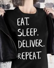 Eat Sleep Doula Repeat Premium Fit Ladies Tee apparel-premium-fit-ladies-tee-lifestyle-32