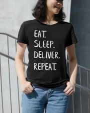 Eat Sleep Doula Repeat Premium Fit Ladies Tee apparel-premium-fit-ladies-tee-lifestyle-front-34