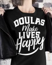 Doulas make lives happy Premium Fit Ladies Tee apparel-premium-fit-ladies-tee-lifestyle-32