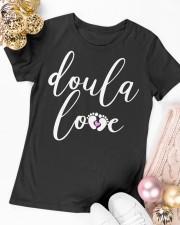 Doula Love Premium Fit Ladies Tee apparel-premium-fit-ladies-tee-lifestyle-14