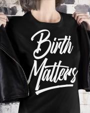 Birth Matters Premium Fit Ladies Tee apparel-premium-fit-ladies-tee-lifestyle-32