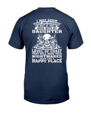 MESS WITH MY DAUGHTER Classic T-Shirt thumbnail