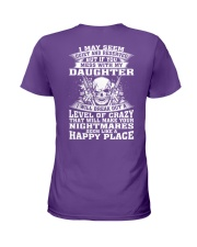 MESS WITH MY DAUGHTER Ladies T-Shirt thumbnail