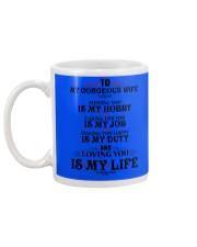 TO MY GORGEOUS WIFE Mug back