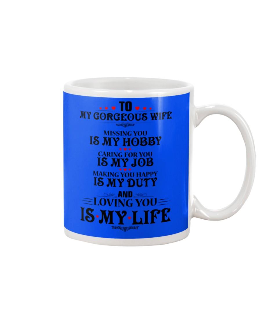TO MY GORGEOUS WIFE Mug