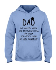 DAD - DAUGHTER Hooded Sweatshirt front