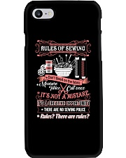 RULES OF SEWING Phone Case thumbnail