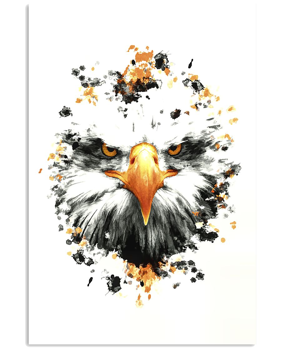 Angry Eagle 16x24 Poster