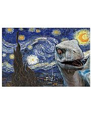 Funny Blue Dinosaur  17x11 Poster front