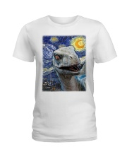 Funny Dinosaur  Ladies T-Shirt tile