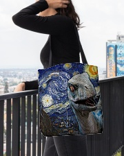 Funny Dinosaur  All-over Tote aos-all-over-tote-lifestyle-front-05