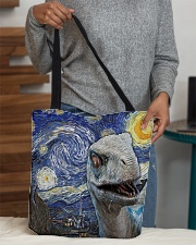 Funny Dinosaur  All-over Tote aos-all-over-tote-lifestyle-front-10