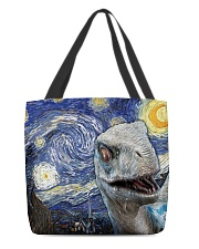 Funny Dinosaur  All-over Tote back