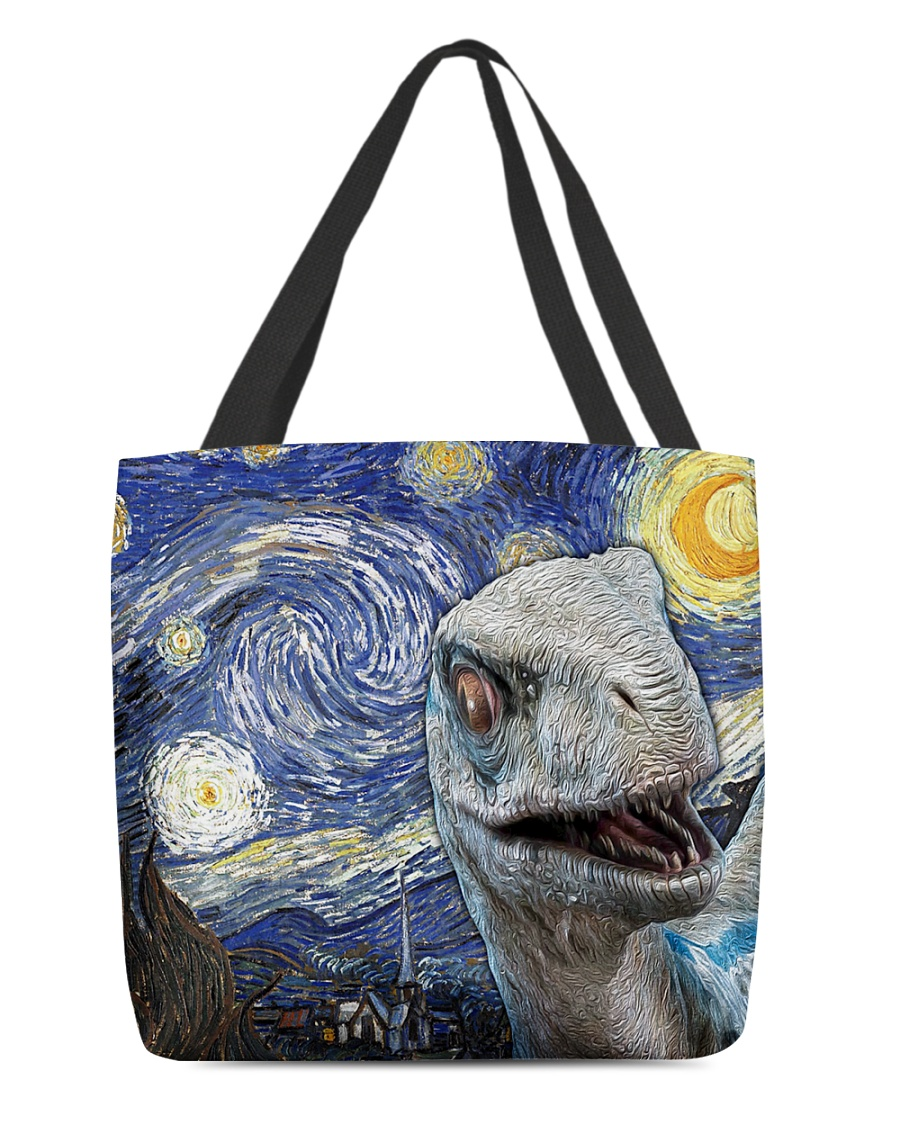 Funny Dinosaur  All-over Tote