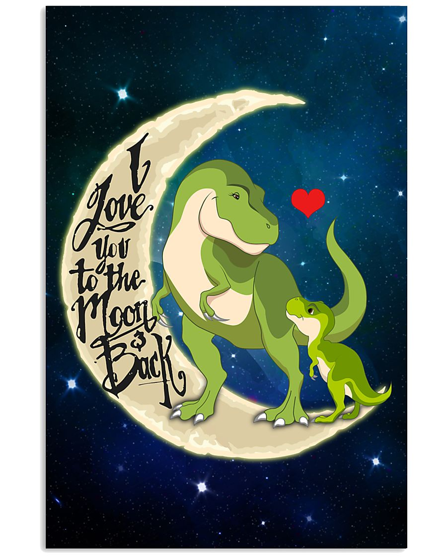 I love you to the moon and back 11x17 Poster