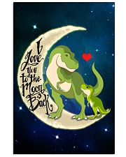 I love you to the moon and back Vertical Poster tile