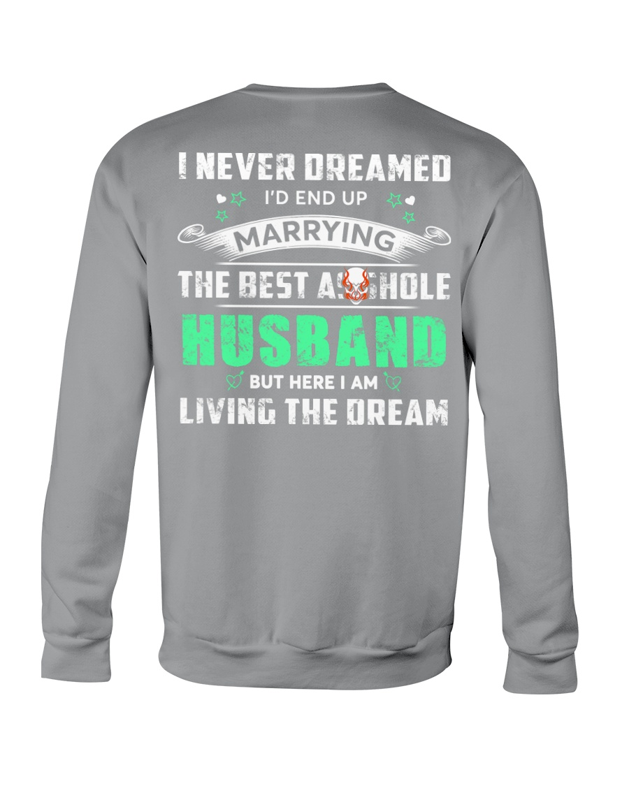 Best Husband Tee Crewneck Sweatshirt