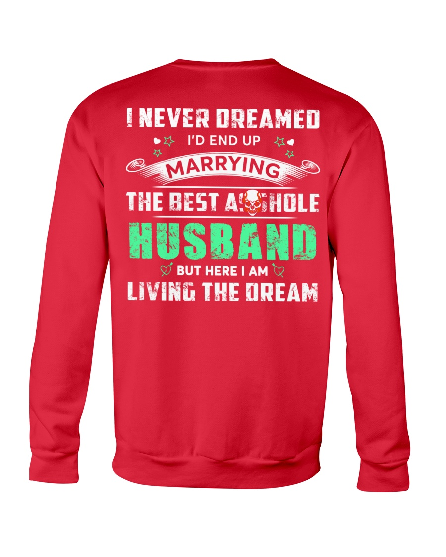 Best Husband Tee Crewneck Sweatshirt