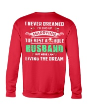 Best Husband Tee Crewneck Sweatshirt back