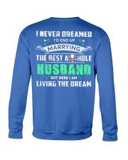 Best Husband Tee Crewneck Sweatshirt back