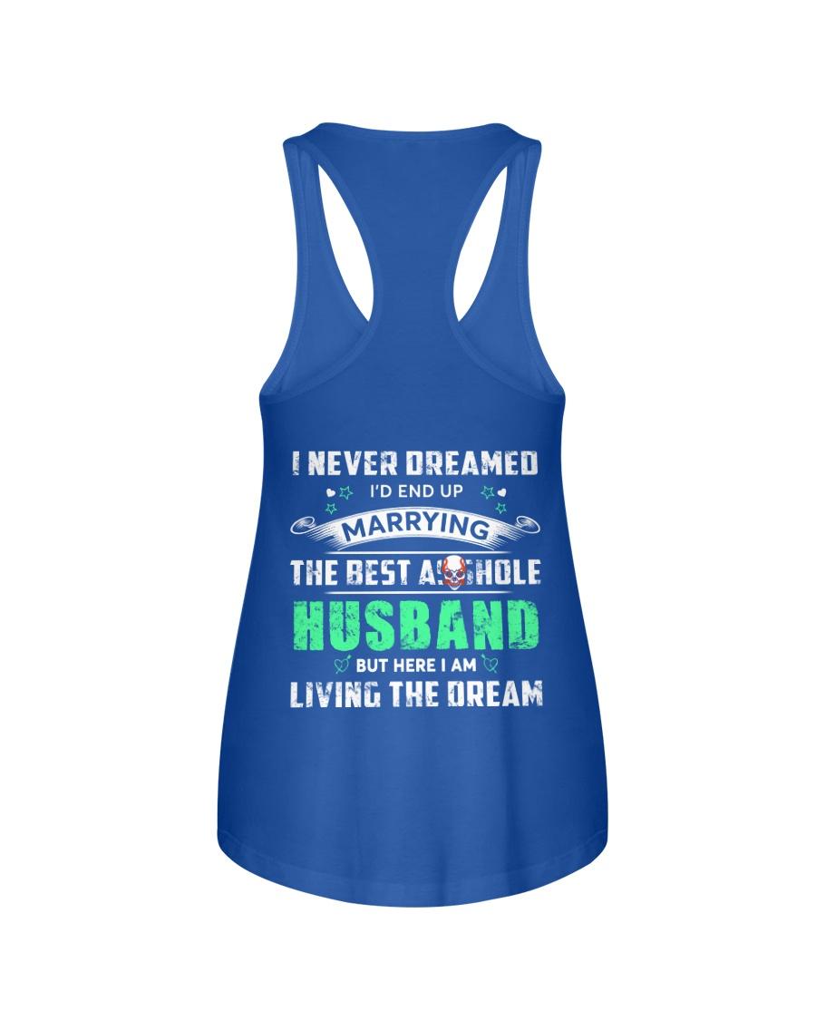 Best Husband Tee Ladies Flowy Tank